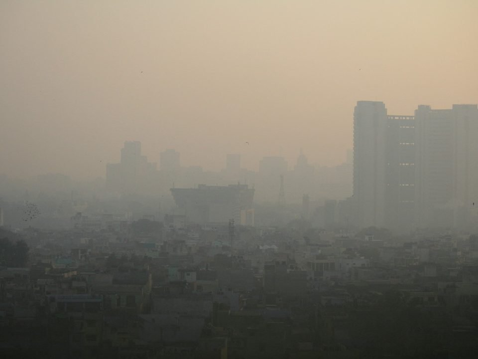 Polluted New Delhi