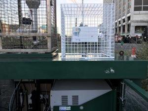AQ Sensor next to National Air Quality Centre