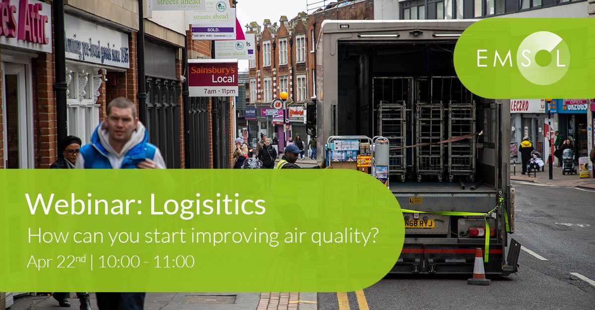 Webinar: Improving Air Quality in Logistics
