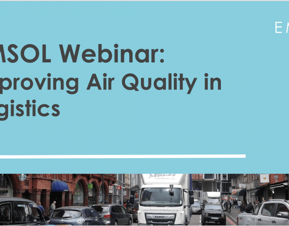 Webinar on-demand: Improving Air Quality in Logistics