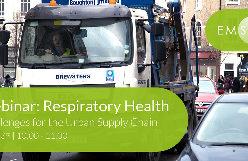Webinar: Respiratory Health Challenges for the Urban Supply Chain Register Today