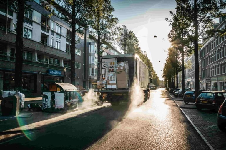 How to reduce noise pollution during high delivery periods