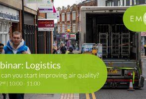 Webinar: Air Quality in Logistics Registration